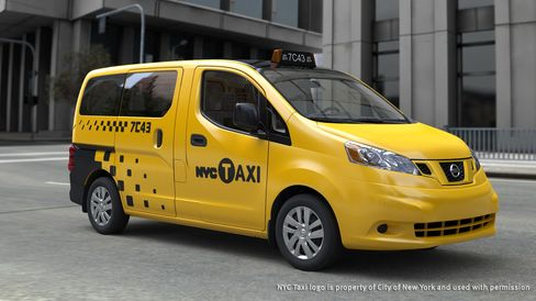 New York City's Taxi of the Future