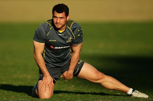 Australia's Rugby Player George Smith