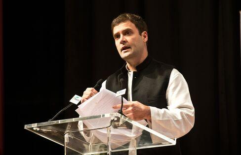 INC Vice President Rahul Gandhi