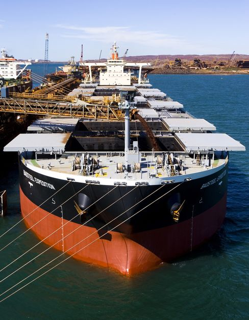 Rio Tinto Profits Signal No Boon for Shipping