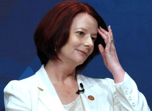 Australia's Gillard Raises BHP's Potash Bid With Harper