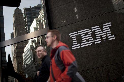 IBM, Hewlett-Packard Cede Some Server Revenue Share