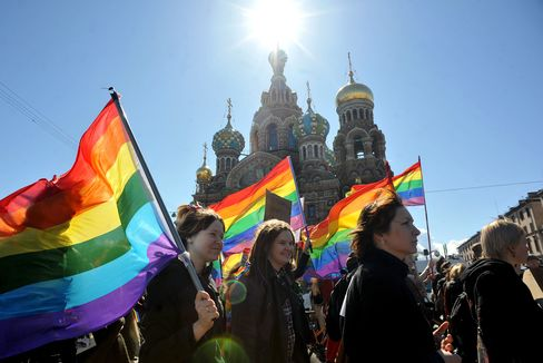 Gay Rights Activists in Russia