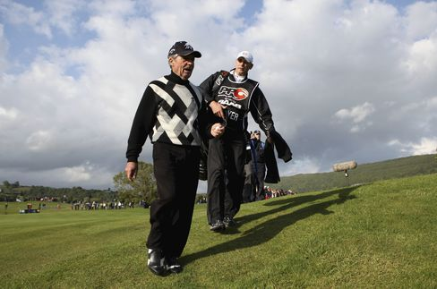 Gary Player of South Africa