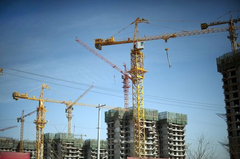 China Developers Rise as CPI Raises Easing Hope