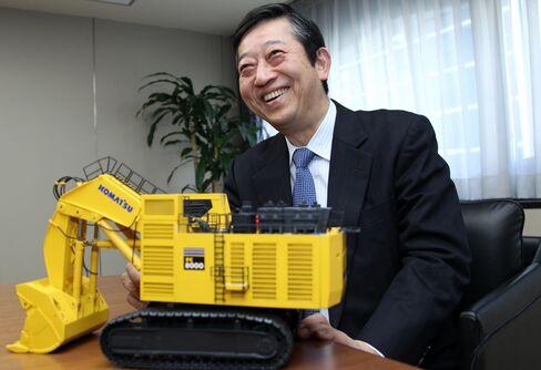 Komatsu Incoming CEO Tetsuji Ohashi
