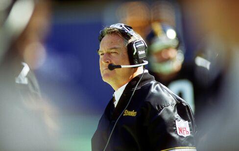 Former Steelers Coach Chuck Noll