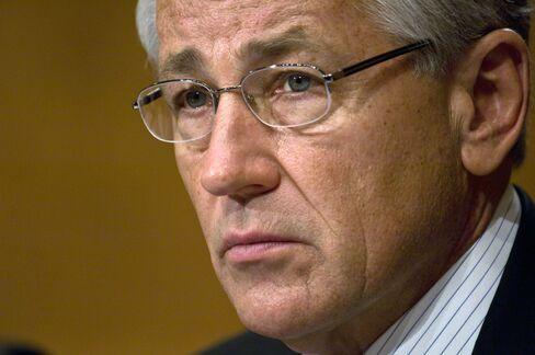Former Senator Chuck Hagel