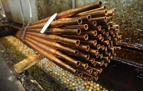 Copper Traders See Rally Ending as China Use Slows