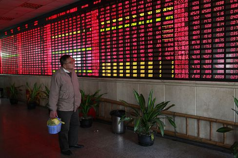 China's Stocks Rise Most in Three Months as Trade Volume Doubles