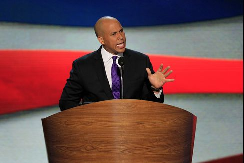 Newark Mayor Corey Booker