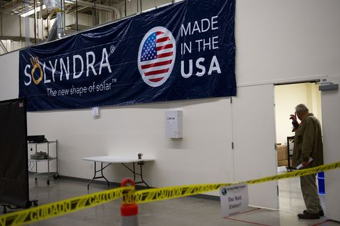 Solyndra Report Ending U.S. House Probe Fuels Campaign Rhetoric