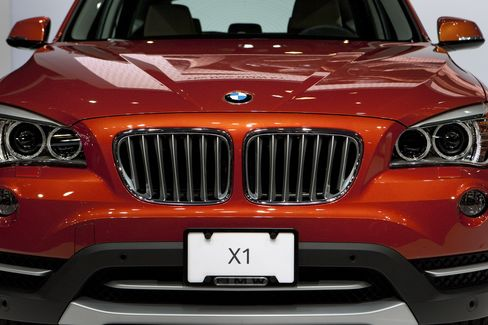 BMW Widens Luxury-Car Sales Lead as Mercedes Slips on China Drop