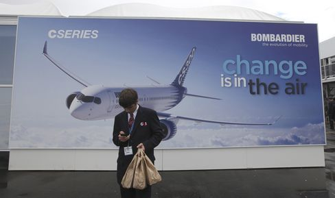 Bombardier Targets ANA to Japan Air for New CSeries Orders