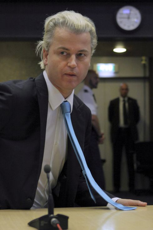 Freedom Party Leader Geert Wilders