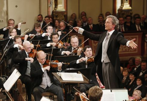 Franz Welser-Most and the Vienna Philharmonic Orchestra