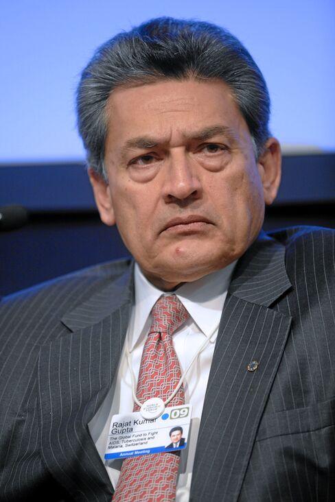 Rajat Kumar Gupta, senior partner emeritus at McKinsey