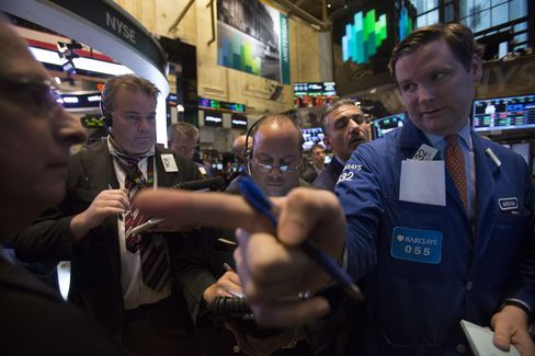 U.S. Stocks Fluctuate as Treasuries Fall; Italy Bonds, Oil Gain