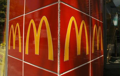 McDonald's May Sales Rise 4.8% on New Frappes, Snack Wraps