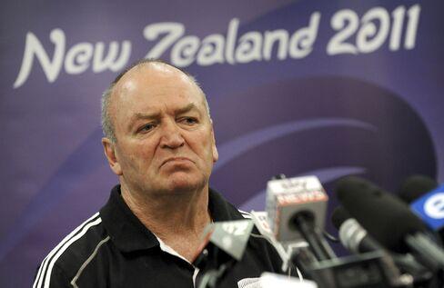 New Zealand All Black Coach Graham Henry