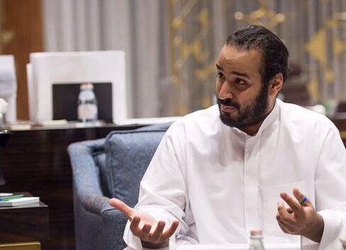 Mohammed Bin Salman, Saudi Arabia's Deputy Crown Prince, interviewed in Riyadh, Saudi Arabia, on Wednesday, March 30, 2016.