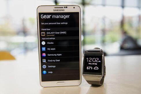 Samsung Galaxy Note 3 and Galaxy Gear