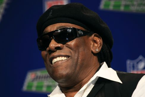 Saxophonist Clarence Clemons