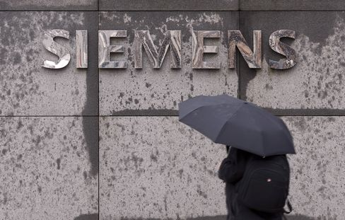 Siemens Cuts Full-Year Forecast Amid Charges for Delayed Trains