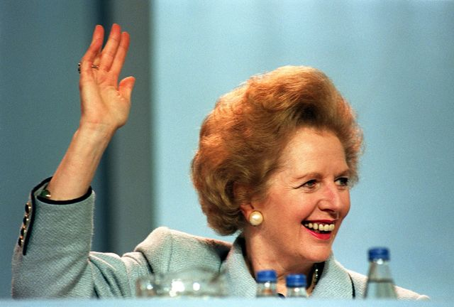 The Iron Lady was sunk by her refusal to listen to critics. Photographer: Johnny Egitt/AFP/Getty Images