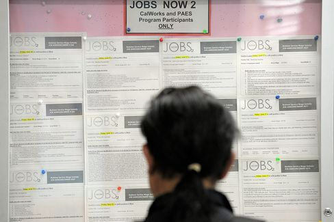 U.S. Jobs Figures Drop for First Time in Three Months
