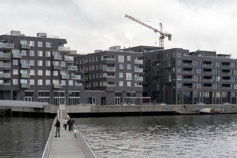 A New Residential Development in Oslo