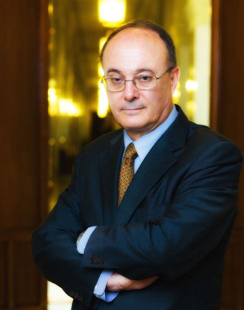 Bank of Spain Governor Luis Maria Linde