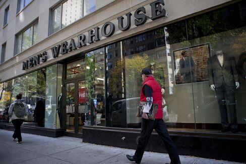 Men's Wearhouse Inc. Store In New York