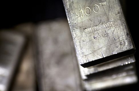Silver in ETPs Set for Record as Central Banks Ignite Demand