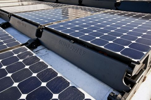 SunPower Falls on Lower 2012 Sales Forecast: San Francisco Mover