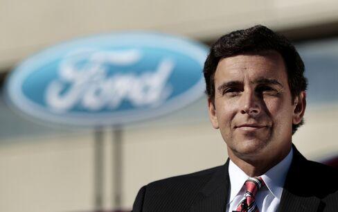 Ford Motor Co. Americas President Mark Fields