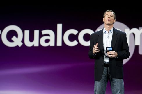 Paul Jacobs, chief executive officer of Qualcomm Inc.