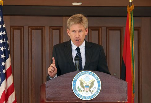 U.S. Ambassador To Libya Chris Stevens