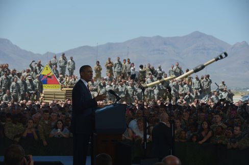 Obama at Fort Bliss Emphasizes Veterans Support as War Recedes