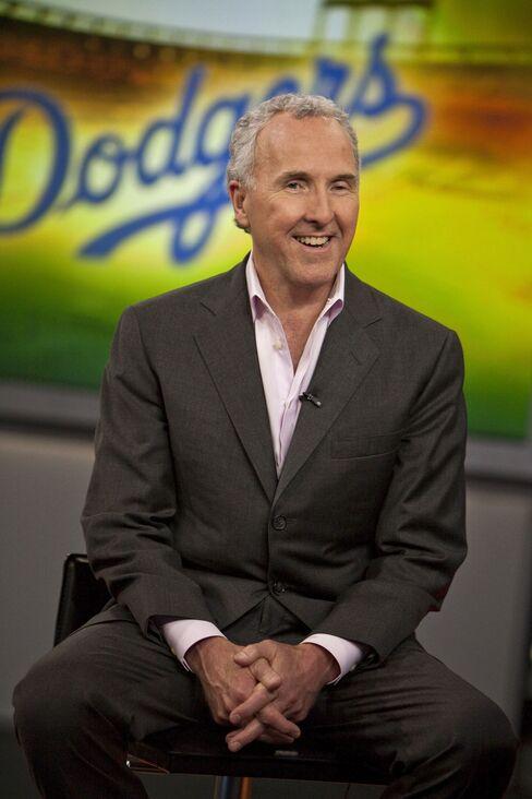 Los Angeles Dodgers Baseball Team Owner Frank McCourt