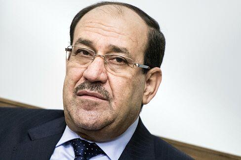 Iraqi Caretaker Prime Minister Nouri al-Maliki