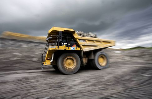 Caterpillar Says 2013 Sales May Decline as Much as 5% on Economy