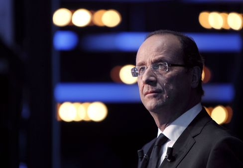 French Presidential Candidate Francois Hollande