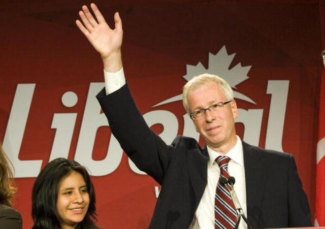 "Stephane Dion's ""Green Shift"" wasn't so successful. Photographer: Rogerio Barbosa/AFP/Getty Images"