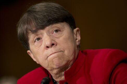 SEC Chairman Mary Jo White