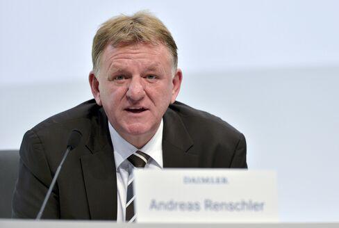 Mercedes-Benz Operations Chief Andreas Renschler