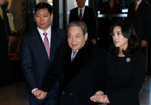 Samsung Chairman Lee Kun Hee & Daughter Lee Boo Jin