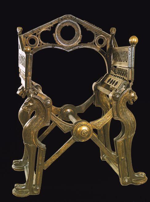 King Dagobert Throne