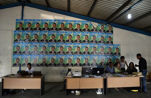 Presidential Candidate Jean Louis Robinson Campaign Headquarters