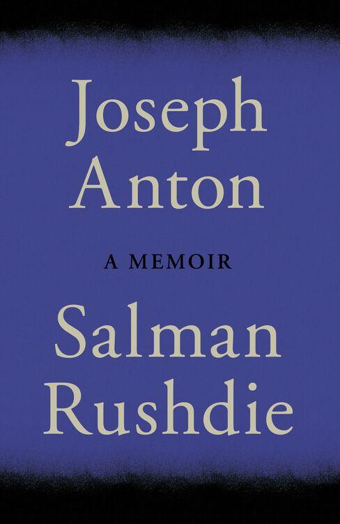 U.K. Jacket of 'Joseph Anton: A Memoir'
